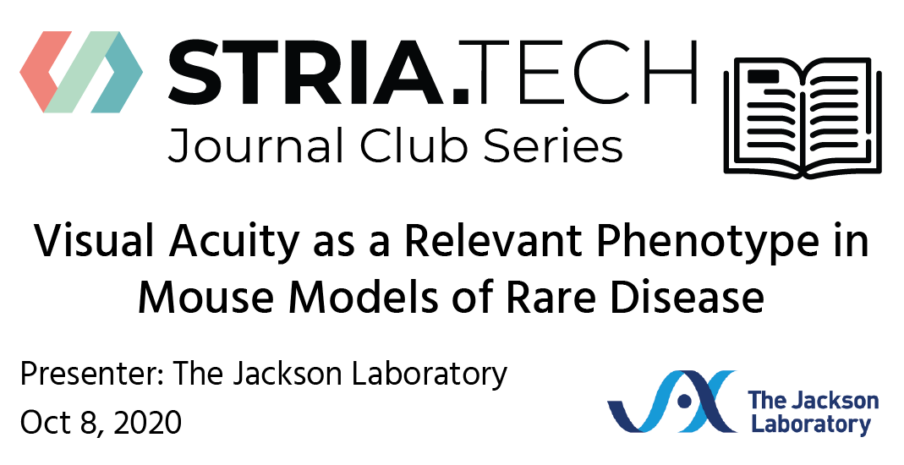 Striatech Journal Club on Oct 8th