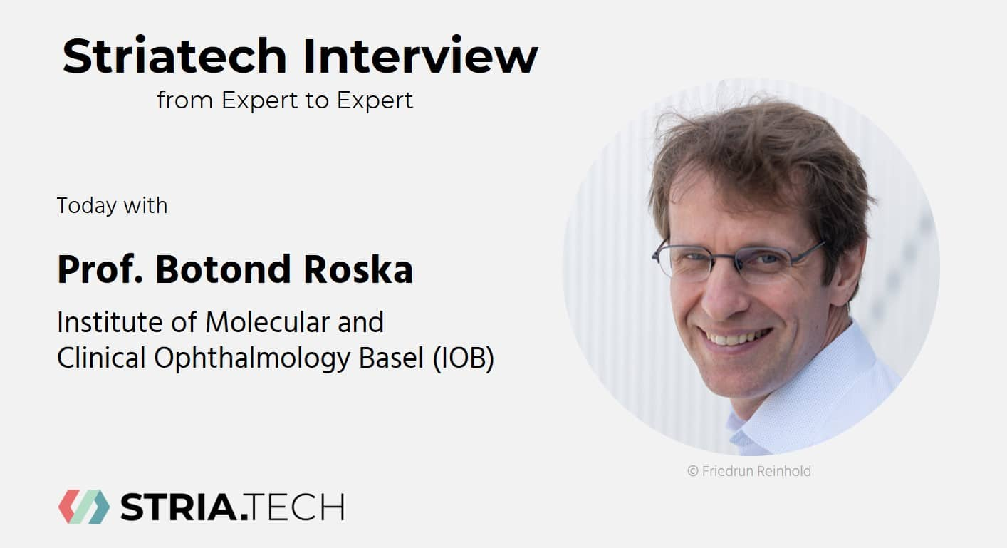 """Featured image for """"Expert to Expert Interview with Prof. Botond Roska (IOB)"""""""