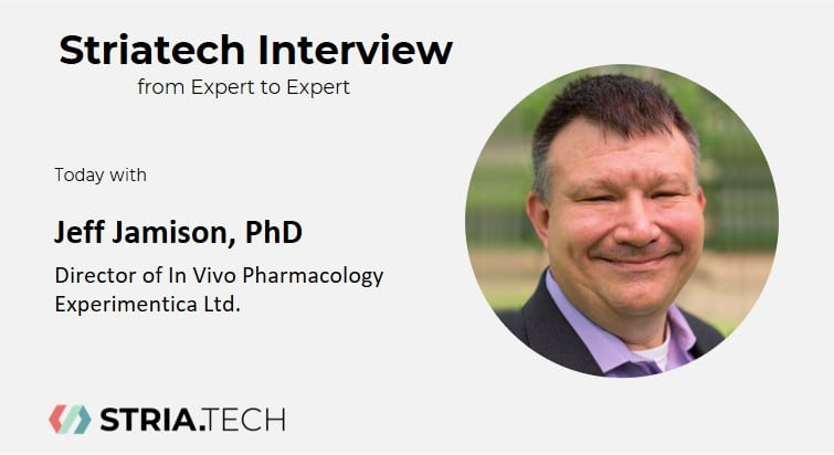 """Featured image for """"Expert to Expert Interview with Dr. Jeff Jamison (Experimentica Ltd)"""""""